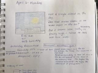 Cloud journal april 6